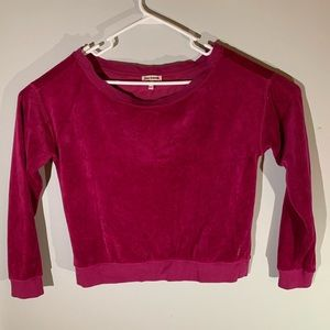 Juicy Couture Women's Velour Long sleeve